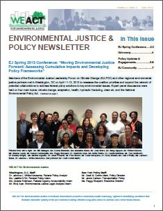 EJ and Policy Newsletter - Volume 2 Issue 2 (June 2013)
